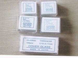 Microscope Cover Glass